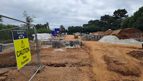 New health and wellbeing centre for Dartmouth is taking shape.