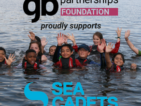 Supporting Sea Cadets reach hundreds of young people from  disadvantaged backgrounds