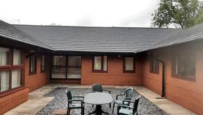 New roof for Devaney Medical Centre