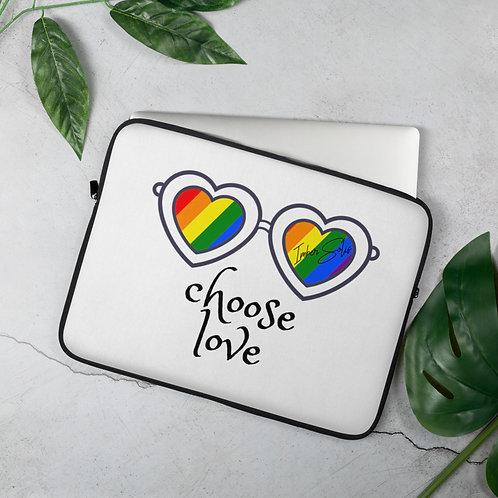Choose Love Laptop Sleeve