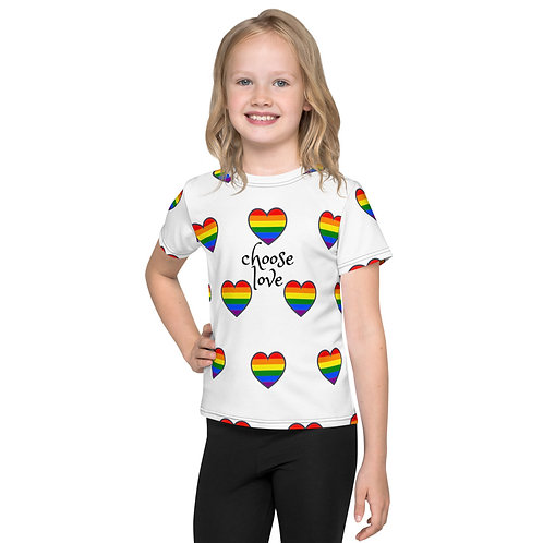 Choose Love Kids Crew Neck T-shirt