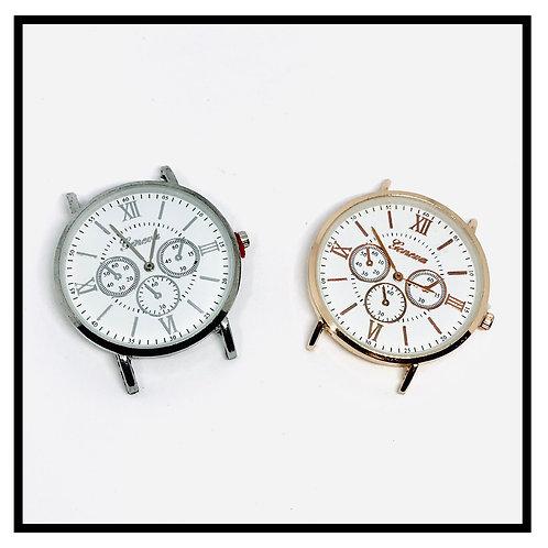Cadrans de montre pour créations, fabrication de bijoux