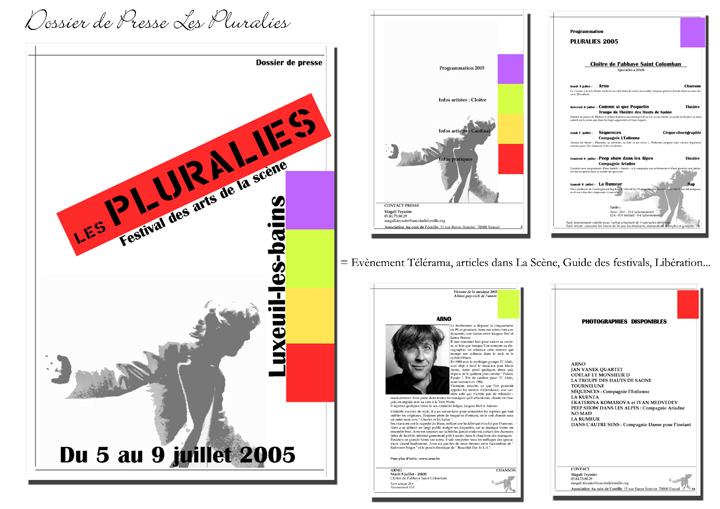 Les pluralies, arts de la scène