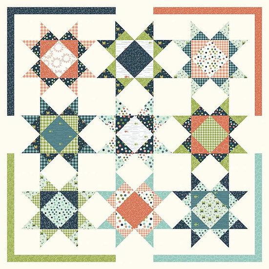 Sandy Gervais Under the Stars Quilt Pattern