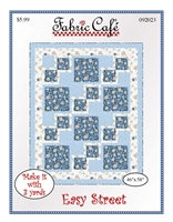 Easy Street Quilt Pattern by Fabric Café