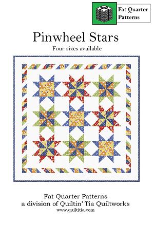 Pinwheel Stars Quilt Pattern