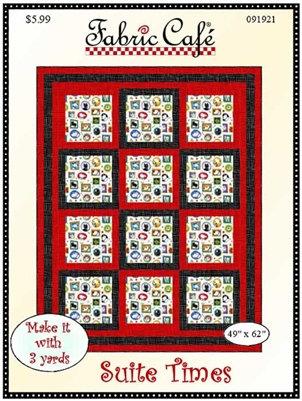 Suite Times Quilt Pattern by Fabric Café