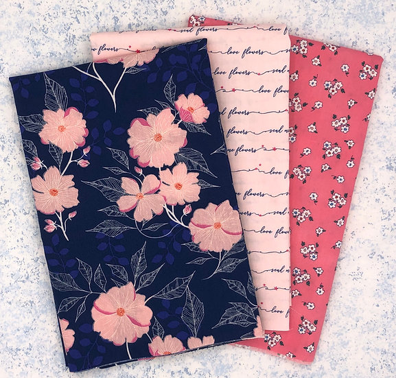 3 Yard Fabric Bundle - Flowerette