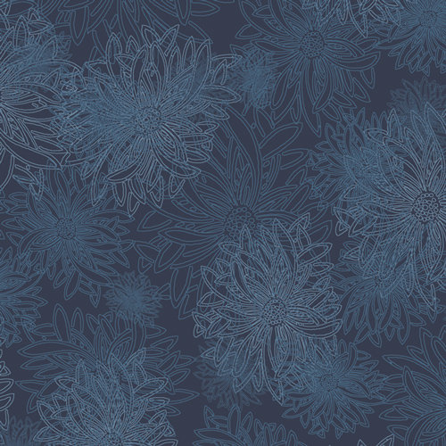Nocturne from Floral Elements by Art Gallery Fabric