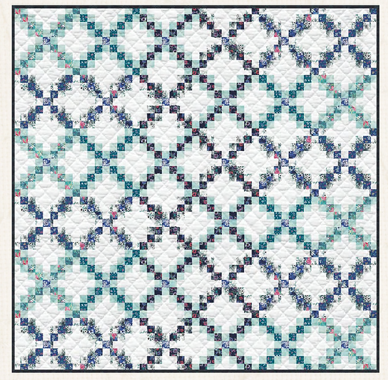 Waterfall Quilt Kit - Art Gallery Fabrics - Aquarelle