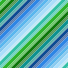 Things That Go - Stripe in Blue
