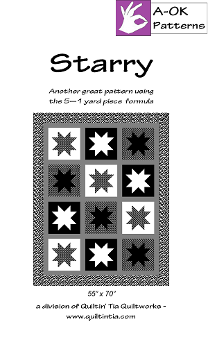 Starry Quilt Pattern
