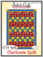 Checkmate Quilt Pattern by Fabric Café