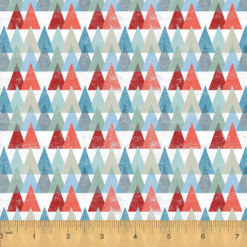 Across the USA by Whistler Studios - Triangles - Multi-Colored