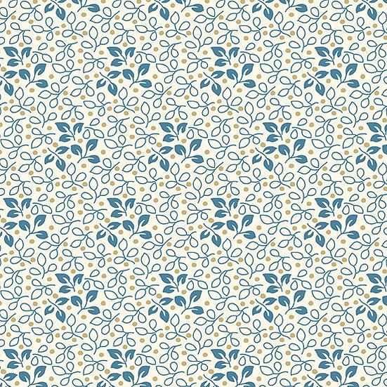 Perfect Union - Edyta Sitar Laundry Basket Quilts - Royal Leaf