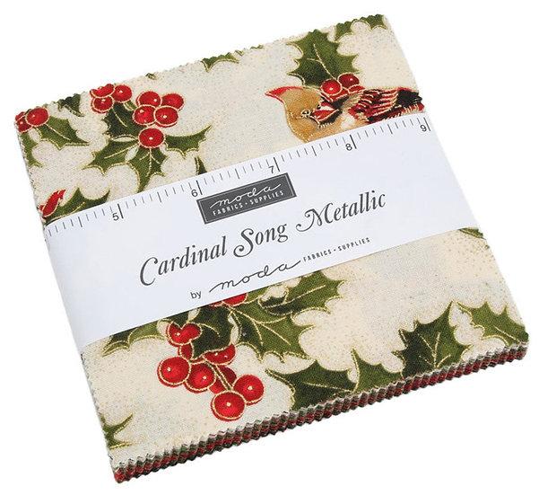 Cardinal Song Metallic Charm Pack
