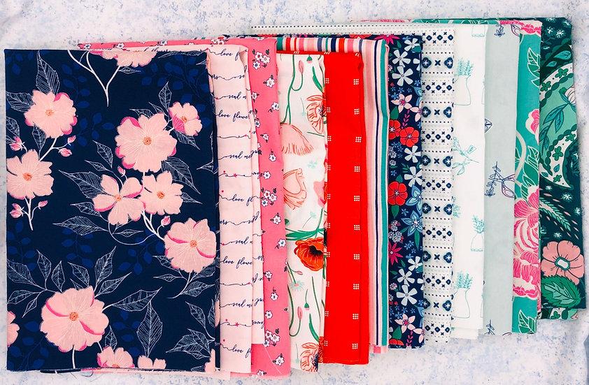 Flowerette - One-Yard Bundle