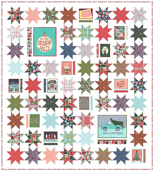 Moda - To Be Jolly Quilt Kit