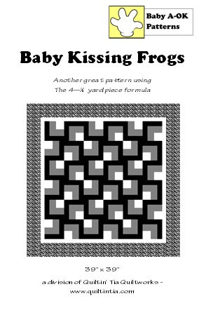 Baby Kissing Frogs Quilt Pattern