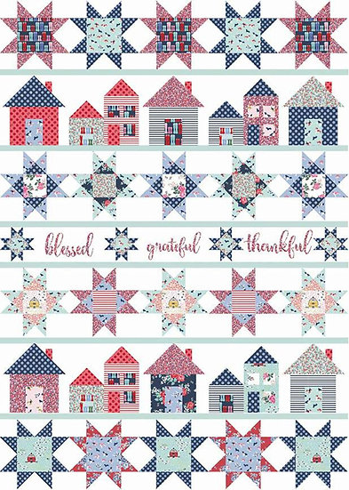 Let's Stay Home Quilt Kit