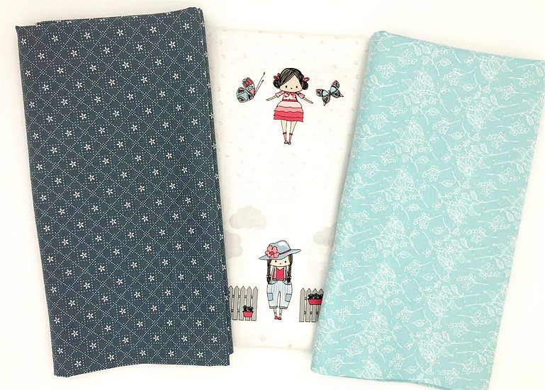 3 Yard Fabric Bundle - Abbie's Garden
