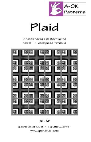 Plaid Quilt Pattern