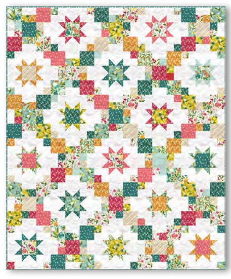 Brightly Quilt Kit - Cora Collection - Windham Fabrics