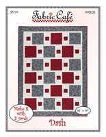 Dash Quilt Pattern by Fabric Café