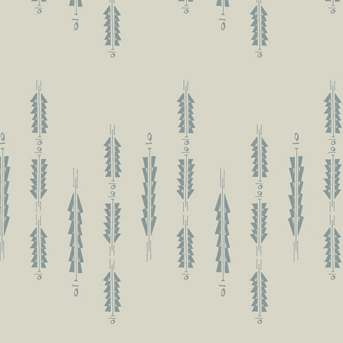 Aura Fletchings Serenity - Art Gallery Fabrics