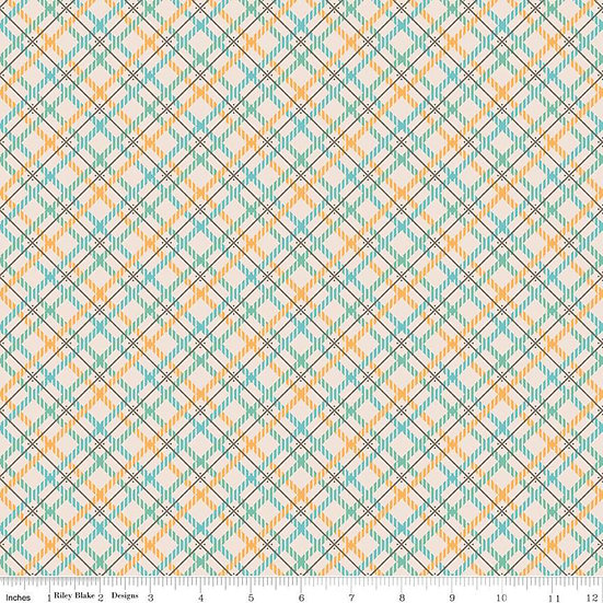 Prim Blue Wide Back by Riley Blake Designs