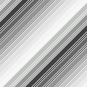 Things That Go - Stripe in Gray