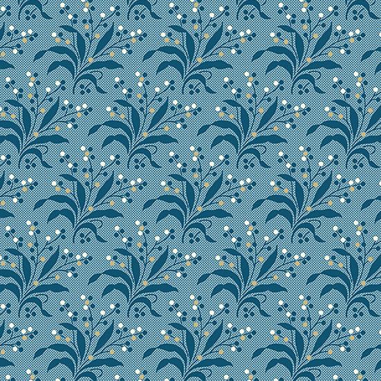 Perfect Union - Edyta Sitar Laundry Basket Quilts - Cornflower Fern