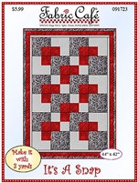 It's A Snap Quilt Pattern by Fabric Café