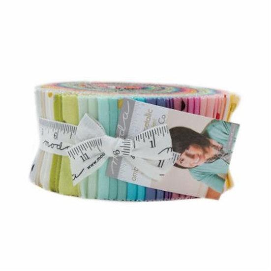 Moda Metallic Ombre Confetti Jelly Roll