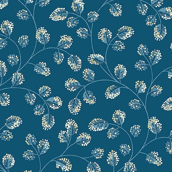 Perfect Union - Edyta Sitar Laundry Basket Quilts - Indigo Cotton