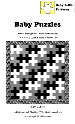 Baby Puzzles Quilt Pattern