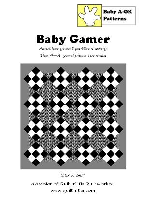 Baby Gamer Quilt Pattern
