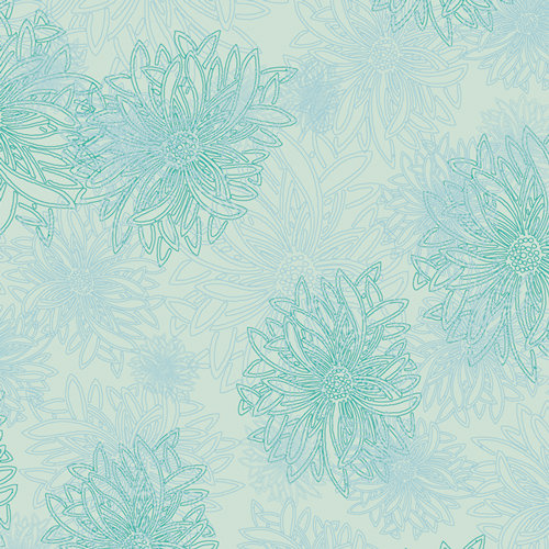 Icy Blue from Floral Elements by Art Gallery Fabric