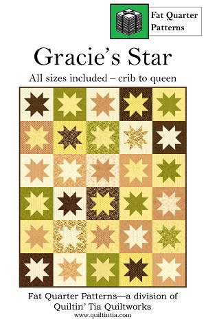 Gracie's Star Quilt Pattern