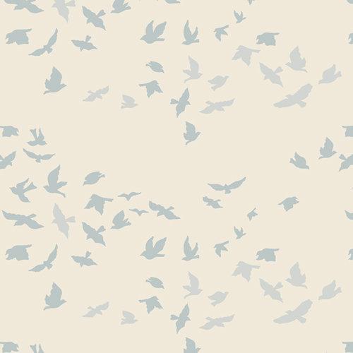 Aves Chatter Serenity - Art Gallery Fabrics