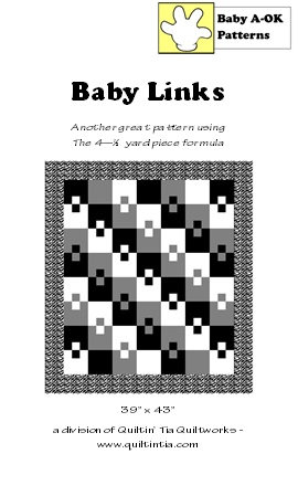 Baby Links Quilt Pattern