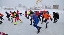 AkademMan-2019. Конькобежный старт, 10000 м.