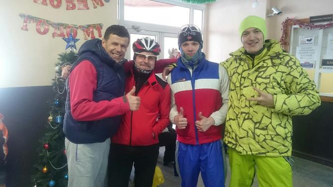 Зимняя велогонка Training XC 2016