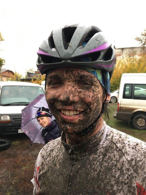 Правильный велокросс должен быть грязным.