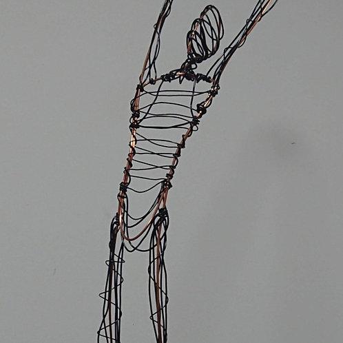 Arching Dancer Wire sculpture