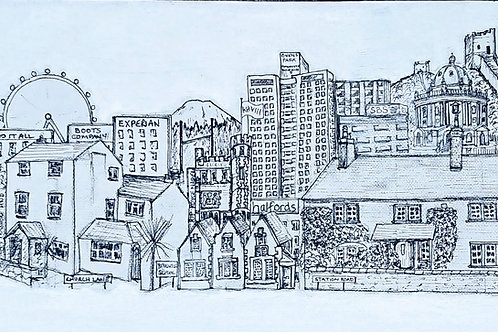 Your life in Places-commission only. Personalised illustrations