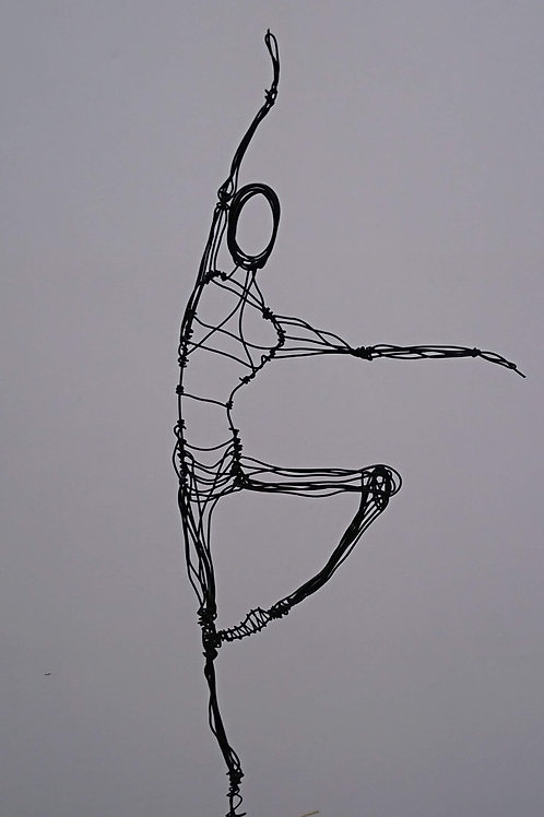 'Perfect Balance' Ballet pose
