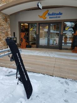 Board Bootie at Solitude - December '17