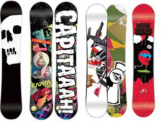 SNOWBOARD GRAPHICS – I don't get them.  Or is it that I just don't appreciate them?