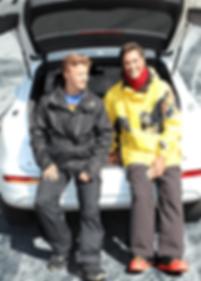 BOARD BOOTIE Founder - David Thornbury and Aidan Thornbury